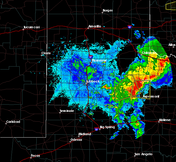 Radar Image for Severe Thunderstorms near Girard, TX at 5/13/2020 9:34 PM CDT