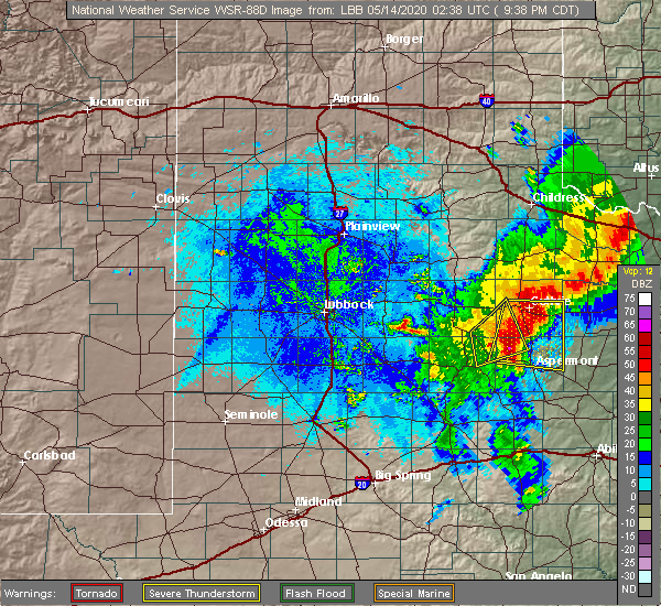 Radar Image for Severe Thunderstorms near Girard, TX at 5/13/2020 9:42 PM CDT