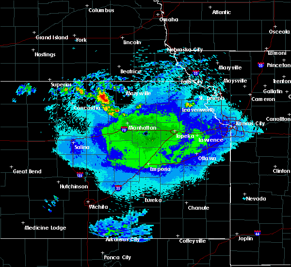 Radar Image for Severe Thunderstorms near Hanover, KS at 5/14/2020 12:57 AM CDT