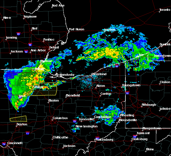 Radar Image for Severe Thunderstorms near Green Springs, OH at 5/14/2020 4:43 PM EDT
