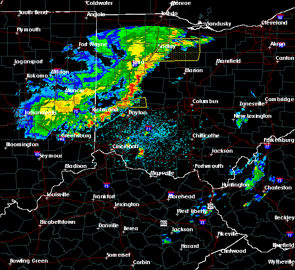 Radar Image for Severe Thunderstorms near St. Paris, OH at 5/14/2020 4:52 PM EDT
