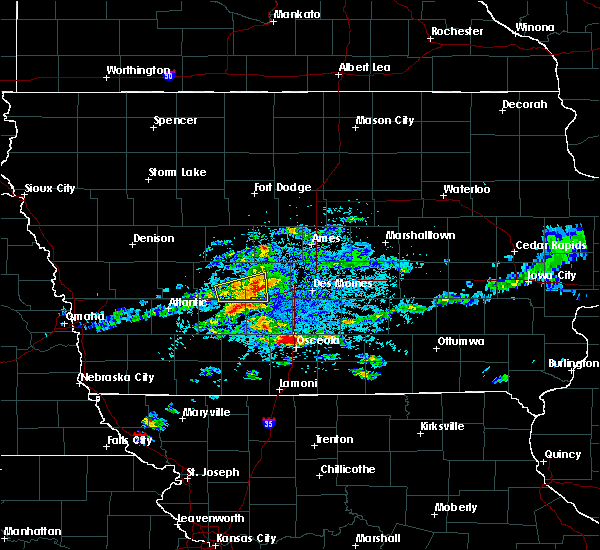 Radar Image for Severe Thunderstorms near Stuart, IA at 5/14/2020 4:06 PM CDT