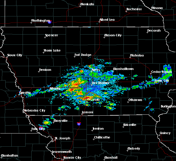 Radar Image for Severe Thunderstorms near Stuart, IA at 5/14/2020 4:13 PM CDT