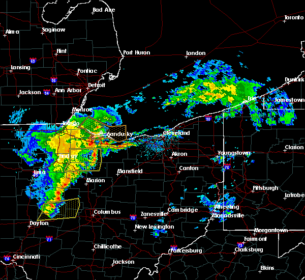Radar Image for Severe Thunderstorms near Tiro, OH at 5/14/2020 5:23 PM EDT