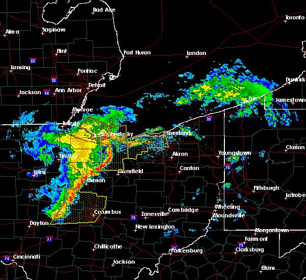 Radar Image for Severe Thunderstorms near Oberlin, OH at 5/14/2020 5:40 PM EDT