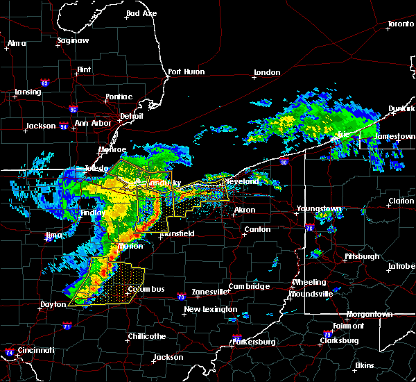 Radar Image for Severe Thunderstorms near Shiloh, OH at 5/14/2020 5:43 PM EDT
