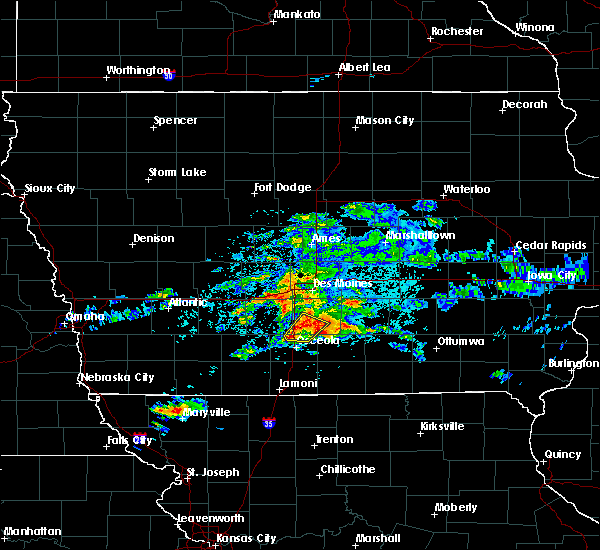 Radar Image for Severe Thunderstorms near Lacona, IA at 5/14/2020 4:49 PM CDT