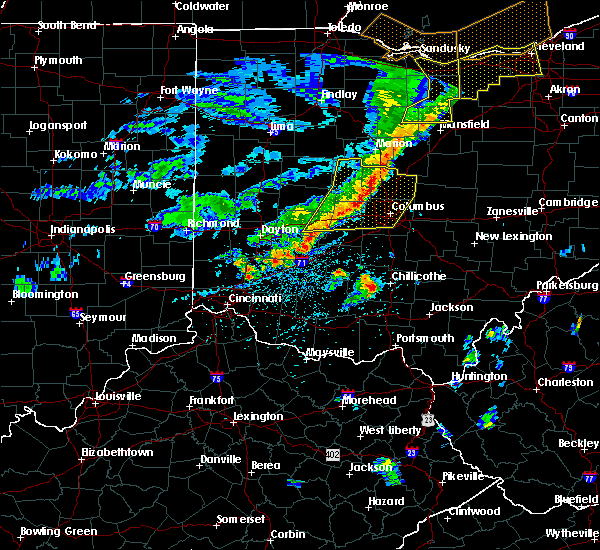 Radar Image for Severe Thunderstorms near Lake Darby, OH at 5/14/2020 5:52 PM EDT