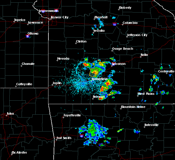 Radar Image for Severe Thunderstorms near Norwood, MO at 5/14/2020 4:56 PM CDT