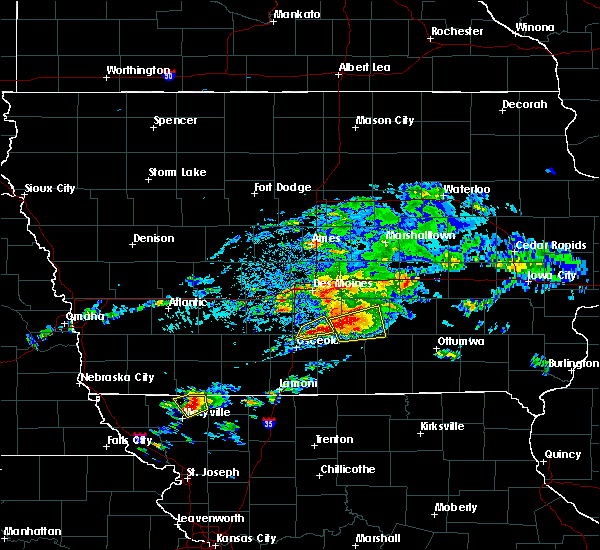 Radar Image for Severe Thunderstorms near New Virginia, IA at 5/14/2020 5:24 PM CDT