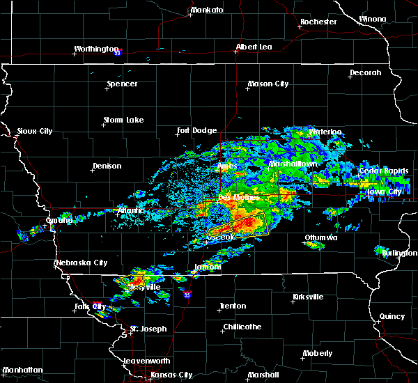 Radar Image for Severe Thunderstorms near Melcher-Dallas, IA at 5/14/2020 5:32 PM CDT