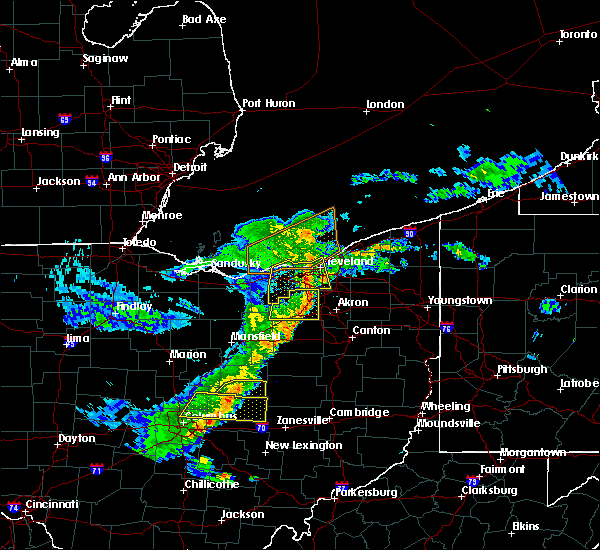 Radar Image for Severe Thunderstorms near Brooklyn, OH at 5/14/2020 6:35 PM EDT