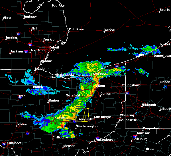 Radar Image for Severe Thunderstorms near Trinway, OH at 5/14/2020 6:56 PM EDT