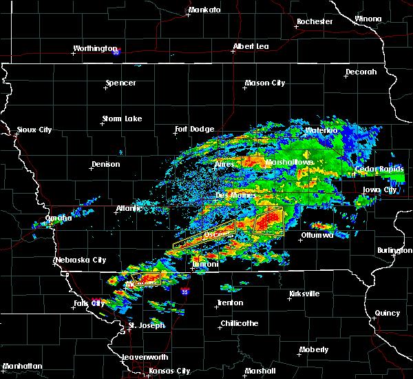 Radar Image for Severe Thunderstorms near Osceola, IA at 5/14/2020 6:06 PM CDT