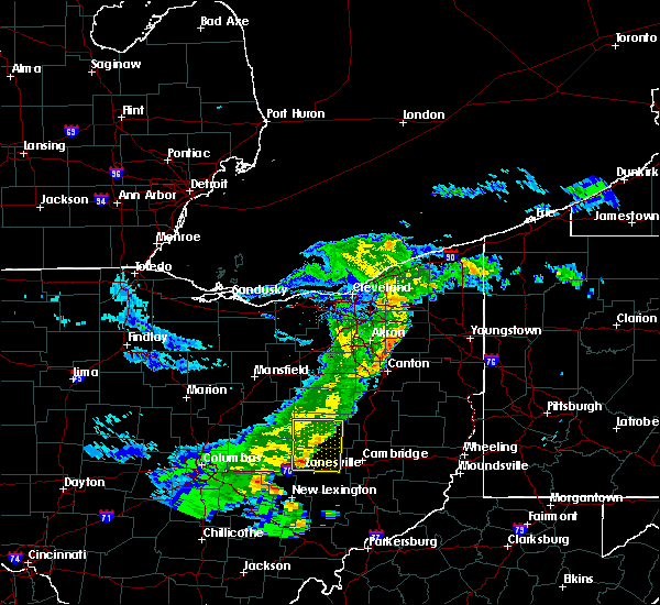 Radar Image for Severe Thunderstorms near Trinway, OH at 5/14/2020 7:08 PM EDT