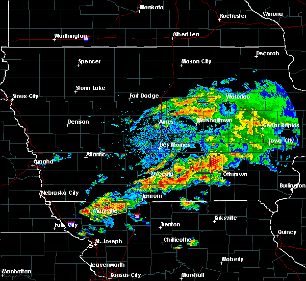 Radar Image for Severe Thunderstorms near Marysville, IA at 5/14/2020 6:42 PM CDT