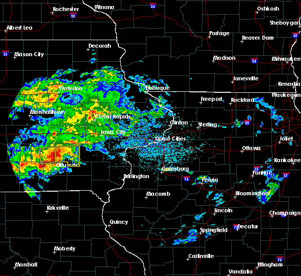 Radar Image for Severe Thunderstorms near Sigourney, IA at 5/14/2020 6:55 PM CDT