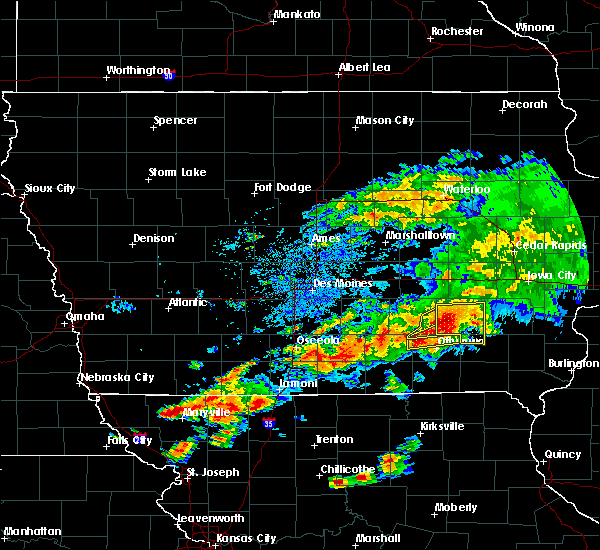 Radar Image for Severe Thunderstorms near Ottumwa, IA at 5/14/2020 6:59 PM CDT