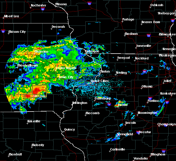 Radar Image for Severe Thunderstorms near Sigourney, IA at 5/14/2020 7:04 PM CDT