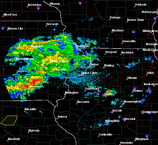 Radar Image for Severe Thunderstorms near Ollie, IA at 5/14/2020 7:17 PM CDT
