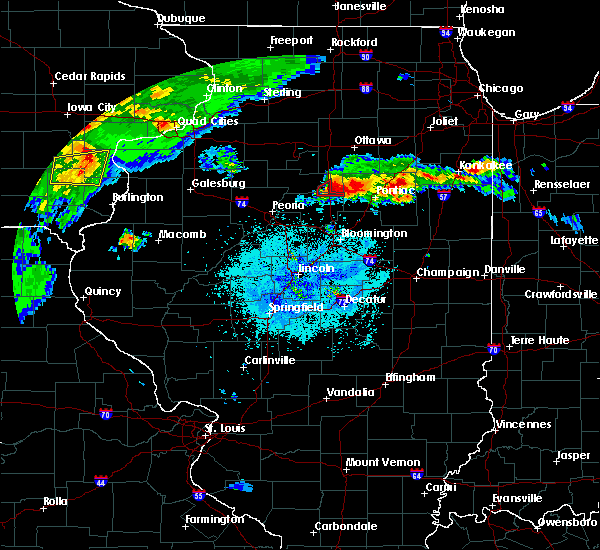 Radar Image for Severe Thunderstorms near Wenona, IL at 5/14/2020 8:39 PM CDT