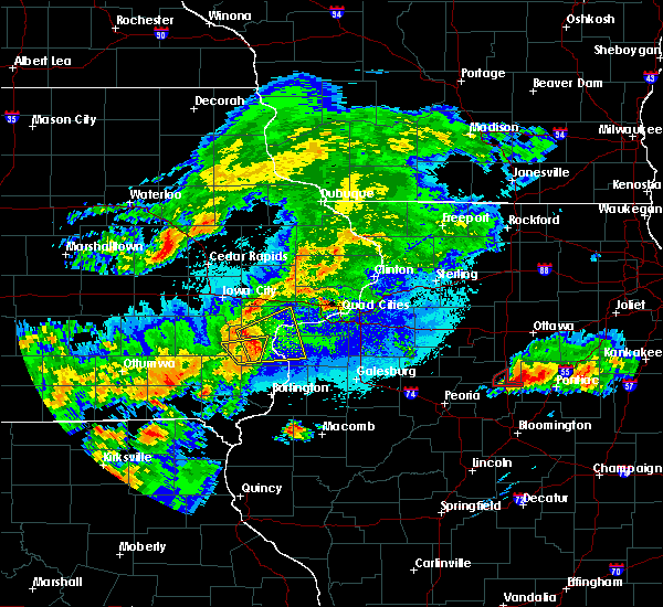 Radar Image for Severe Thunderstorms near Conesville, IA at 5/14/2020 8:47 PM CDT