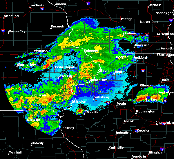 Radar Image for Severe Thunderstorms near Kirkwood, IL at 5/14/2020 9:02 PM CDT
