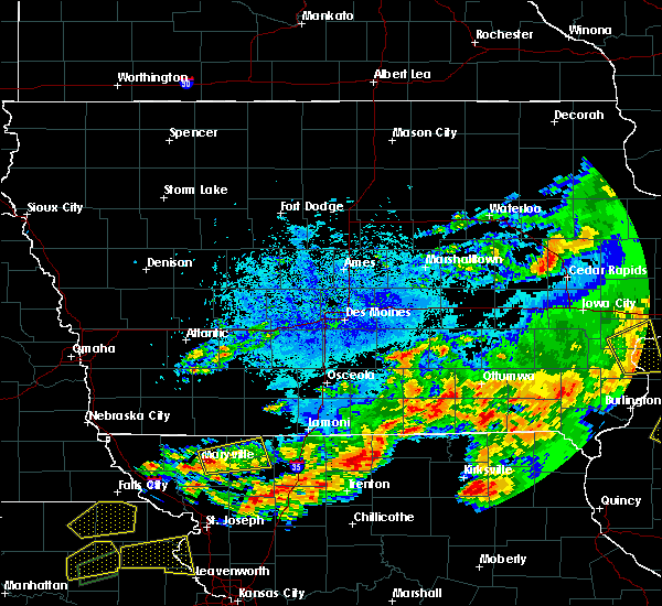 Radar Image for Severe Thunderstorms near Parnell, MO at 5/14/2020 9:08 PM CDT