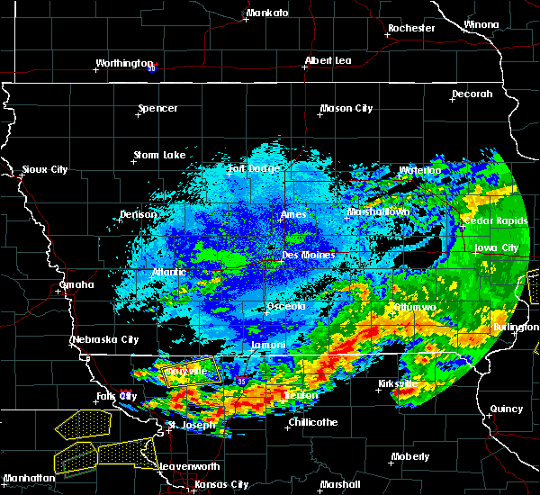 Radar Image for Severe Thunderstorms near Parnell, MO at 5/14/2020 9:30 PM CDT