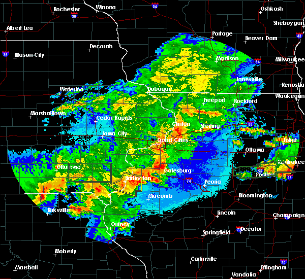 Radar Image for Severe Thunderstorms near Biggsville, IL at 5/14/2020 10:00 PM CDT