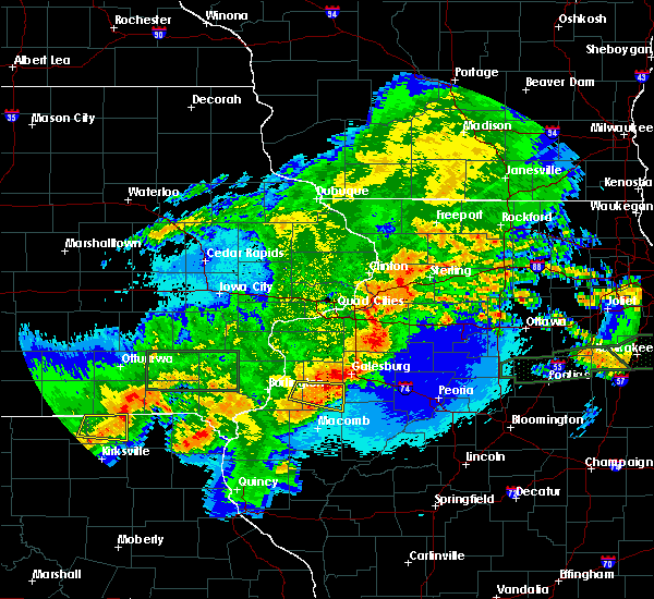 Radar Image for Severe Thunderstorms near Norwood, IL at 5/14/2020 10:23 PM CDT