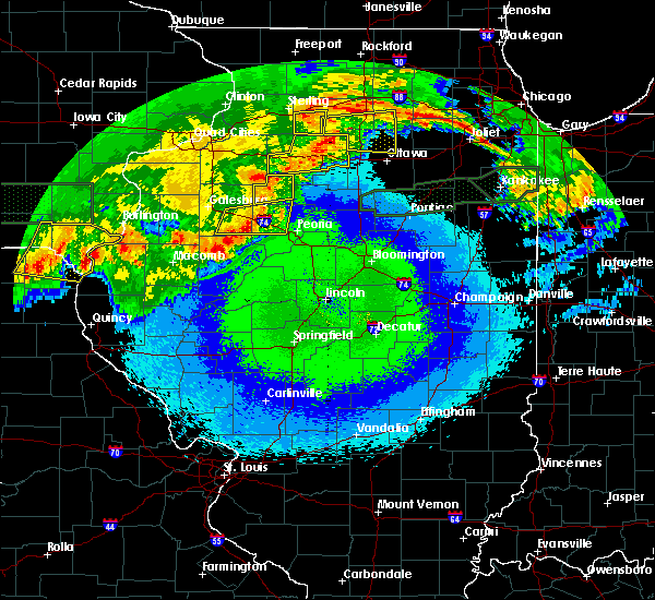 Radar Image for Severe Thunderstorms near Elmwood, IL at 5/14/2020 11:08 PM CDT