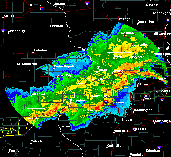 Radar Image for Severe Thunderstorms near Harmon, IL at 5/14/2020 11:14 PM CDT
