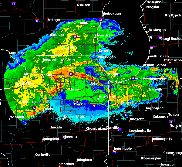 Radar Image for Severe Thunderstorms near Waterman, IL at 5/14/2020 11:34 PM CDT