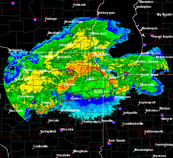 Radar Image for Severe Thunderstorms near Yorkville, IL at 5/15/2020 12:14 AM CDT