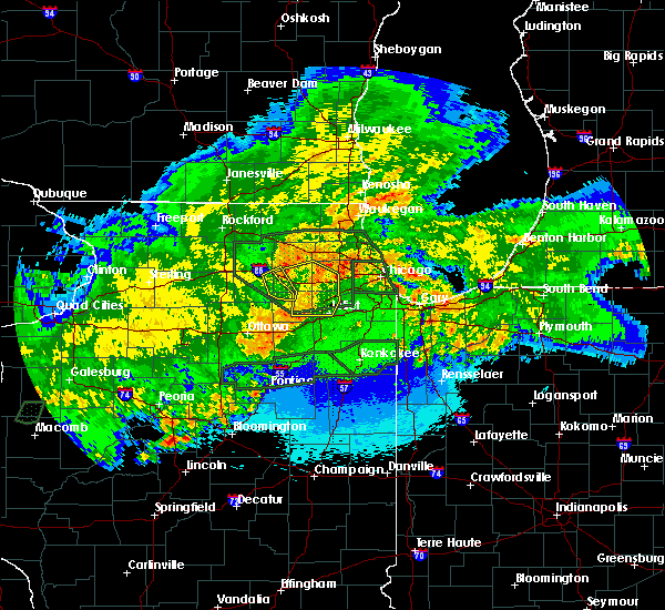 Radar Image for Severe Thunderstorms near Lisle, IL at 5/15/2020 12:31 AM CDT