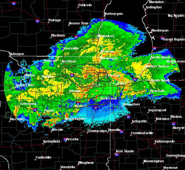 Radar Image for Severe Thunderstorms near Lisle, IL at 5/15/2020 12:42 AM CDT
