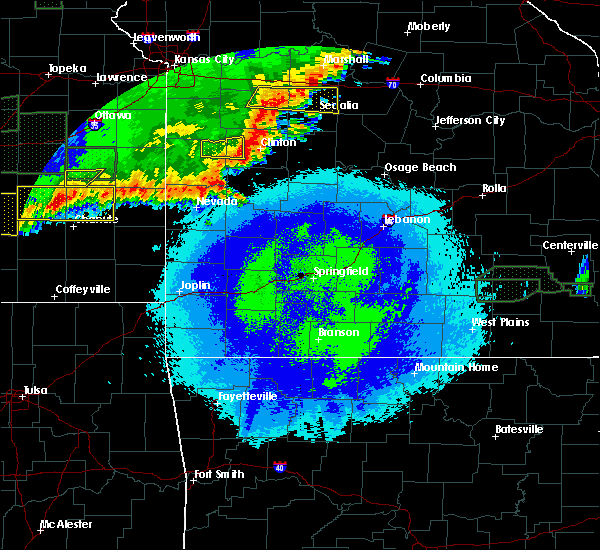 Radar Image for Severe Thunderstorms near Vista, MO at 5/15/2020 1:07 AM CDT