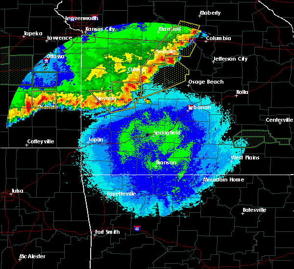 Radar Image for Severe Thunderstorms near Fair Play, MO at 5/15/2020 1:45 AM CDT
