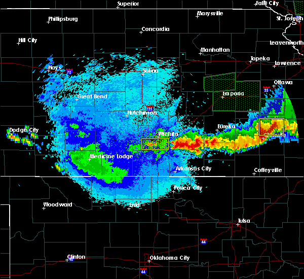 Radar Image for Severe Thunderstorms near Andover, KS at 5/15/2020 1:51 AM CDT
