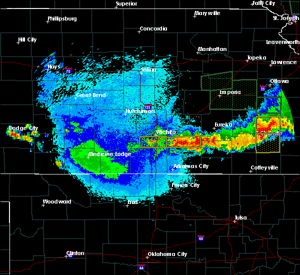 Radar Image for Severe Thunderstorms near Longton, KS at 5/15/2020 2:02 AM CDT