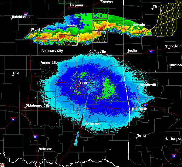 Radar Image for Severe Thunderstorms near St. Paul, KS at 5/15/2020 2:08 AM CDT