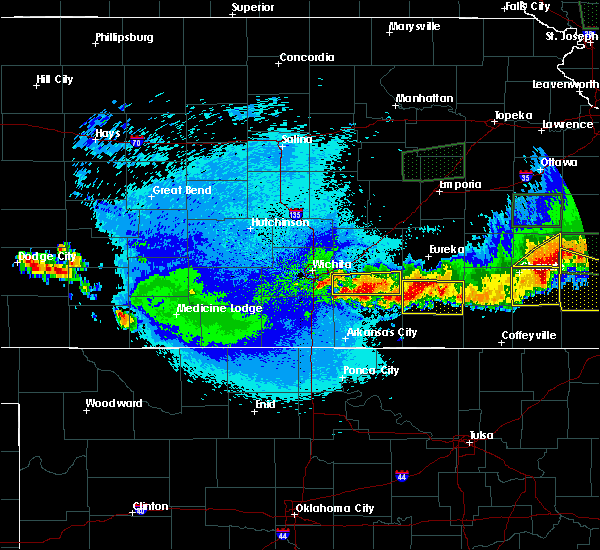 Radar Image for Severe Thunderstorms near Andover, KS at 5/15/2020 2:13 AM CDT