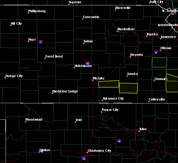Radar Image for Severe Thunderstorms near Andover, KS at 5/15/2020 2:40 AM CDT