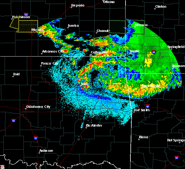 Radar Image for Severe Thunderstorms near Claremore, OK at 5/15/2020 6:19 AM CDT
