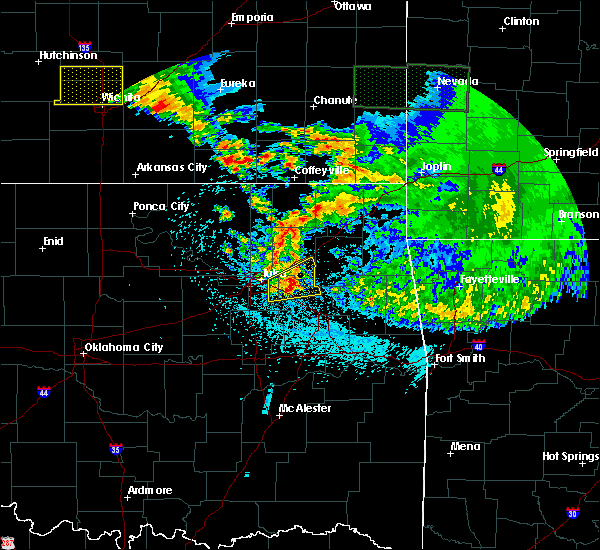 Radar Image for Severe Thunderstorms near Claremore, OK at 5/15/2020 6:33 AM CDT