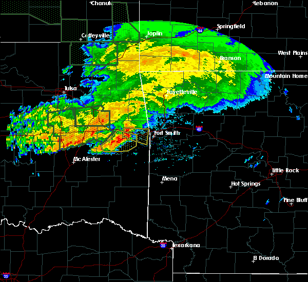 Radar Image for Severe Thunderstorms near Long, OK at 5/15/2020 12:10 PM CDT