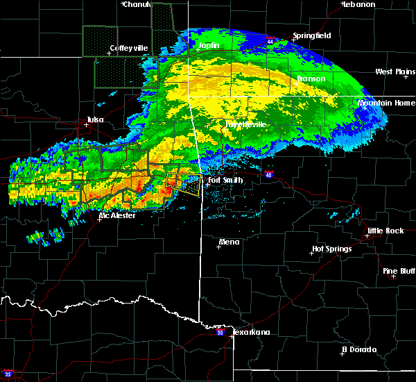 Radar Image for Severe Thunderstorms near Long, OK at 5/15/2020 12:37 PM CDT