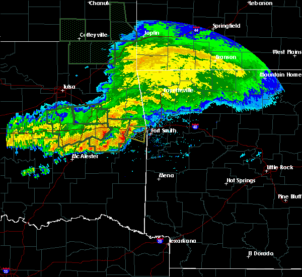 Radar Image for Severe Thunderstorms near Long, OK at 5/15/2020 12:44 PM CDT