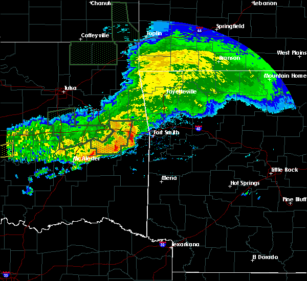 Radar Image for Severe Thunderstorms near Long, OK at 5/15/2020 1:08 PM CDT